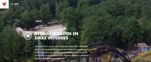 Snelste achtbanen Nederland
