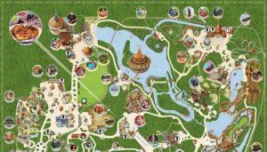Pretparken Nederland kaart